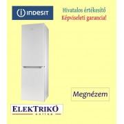 Indesit LR8S2W alulfagyasztós hűtőszekrény , A++ energiaosztály