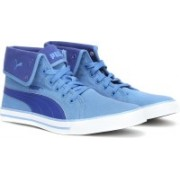 Puma Carme Mid IDP Sneakers For Men(Blue)