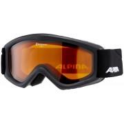 Alpina Carat goggles Kinderen DH/S2 zwart 2016 Goggles