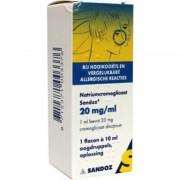 Sandoz Natriumcromoglicaat oogdruppels - 20 mg