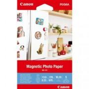 ORIGINAL Canon Carta Bianco 3634C002 MG-101 ~0 Seiten 0ml A4 Carta fotografica magnetica, 10 x 15 cm, 5 fogli, 670 g/m².