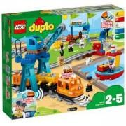 Конструктор ЛЕГО ДУПЛО - Товарен влак, LEGO DUPLO, 10875
