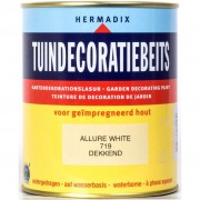 Tuindecoratiebeits 719 Allure white 750 ml