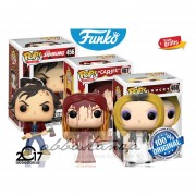 Set Terror Carrie Stephen King, Jack Torrance The Shining Y Tiffany Chucky Funko Pop Original 2017