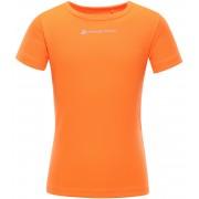 ALPINE PRO HOTO 2 Dětské triko KTSN162343 neon pomeranč 140-146