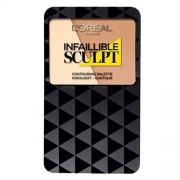 L´Oréal Paris Infallible Sculpt Contouring Palette W01 Light/Medium 10g