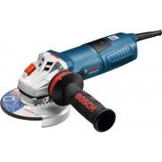 Bosch GWS 13-125 CIE mala ugaona brusilica sa potenciometrom i Kick Back sistemom, antivibraciona drška, podešavanje broja obrtaja, 125 mm, snaga 1300 W, 11500 obrtaja