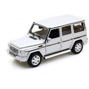 Mercedes G Class Silver 1/24 by Welly 24012