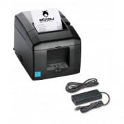 Imprimanta termica Star TSP654IIBI, Bluetooth, alimentator, neagra
