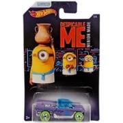 Masinuta Despicable Me Hot Wheels Car Minions Jester