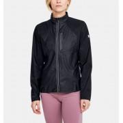 Under Armour Women's UA Run Impasse Wind Jacket Black XL