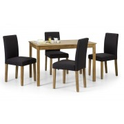 Coxmoor Oak Rectangular Dining Table - Table + 4 Hastings Chair