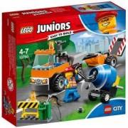 Конструктор Лего Джуниърс - Камион за пътни ремонти - LEGO Juniors, 10750