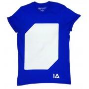 Póló, M méret, sötétben világít, ILLUMINATED APPAREL, kék (LOEIA007)
