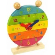 Jucarie educativa Big Jigs Rainbow Clock