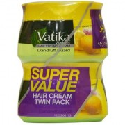 Vatika Hair Styling Cream Dandruff Guard 140ml each (Pack Of 2)
