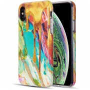 Funda Case para Iphone Xs Max Tipo Marmol - Melting