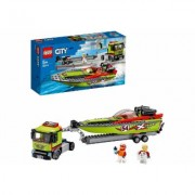LEGO® Konstruktionsspielsteine »Rennboot-Transporter (60254), LEGO® City Great Vehicles«, (238 St)