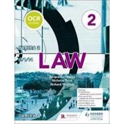 OCR A Level Law Book 2, Paperback/Jacqueline Martin