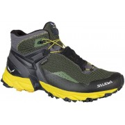Salewa Ultra Flex Mid GTX - scarpe trail running - uomo - Grey/Yellow