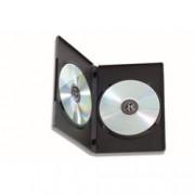 Manhattan Custodia Doppia per DVD/CD BOX Nero