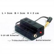 Soundman A3-Adaptador solo batería-PreAmp para OKM-Serie