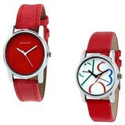 New danzen Analog wrist watch for women combo-dz-425-430