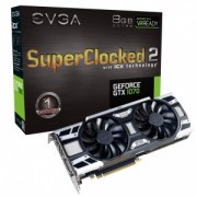 Placa Video EVGA GeForce GTX 1070 8GB DDR5
