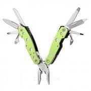 JAKEMY PJ-1002 mini alicates multifuncionales - verde + plata