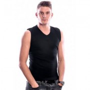 Beeren Bodywear Sleeveless Shirt V-Neck Black ( 3 pack)