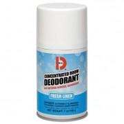 Metered Concentrated Room Deodorant, Fresh Linen Scent, 7 Oz Aerosol, 12/box