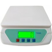 Raja Premium 25Kg x 1g Digital Multi-Purpose Weighing Scale, Parcel Weight Measuring Weighing Scale(White)