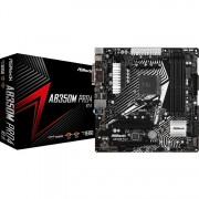 ASRock AB350M Pro4 R2.0, socket AM4 moederbord RAID, Gb-LAN, Sound, µATX