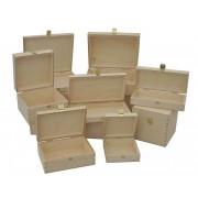 Holz-kiste, Weinbox, Holzbox ~ Variantenangebot