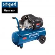 Двубутален компресор Scheppach HC52DC, 50 л., 8 bar