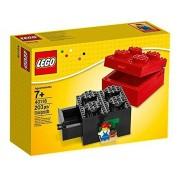 Lego Buildable Brick Box 2X2, Multi Color