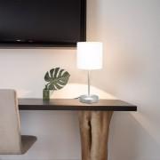 vidaXL 2 darab fehér asztali lámpa érintőgombbal E14
