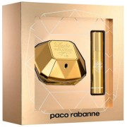 Lady Million - Paco Rabanne gift set profumo 50 ml EDP SPRAY + profumo travel size 10 ml EDP SPRAY
