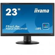 "Monitor iiyama XB2380HS, 23"", IPS, LED, 1920x1080, 5M:1, 5ms, 250cd, D-SUB, DVI, HDMI, pivot"