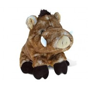 Puzzled Wild Boar Super - Soft Stuffed Plush Cuddly Animal Toy Animals Theme 7 Inch Unique Huggable Loveable New Friend Gift (5328)