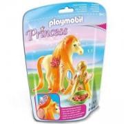Комплект Плеймобил 6168 Принцеса Съни с кон, Playmobil, 291266