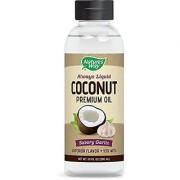 Nature's Way Premium Coconut Savory Garlic Oil 10 Fluid Ounce (300 mL)