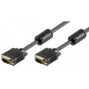 Cablu VGA 15 pini tata la 15 pini tata ecranat 15m
