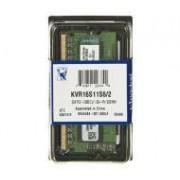 Kingston DDR3 2GB KVR16S11S6/2 SODIMM