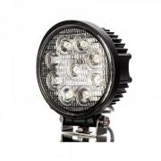 Proiector LED Auto Offroad 9 LEDuri 27W 12V/24V Rotund