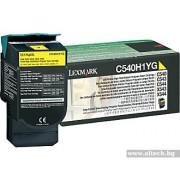 LEXMARK Cartridge for C540/ C544/ X543/ X544, yellow - 2000k (C540H1YG)