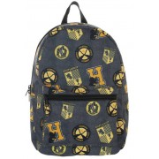 Bioworld Harry Potter - Hufflepuff Patches Backpack