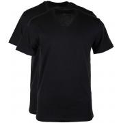 Levi's T-shirt V-Hals Schwarz 2Pack - Schwarz XL