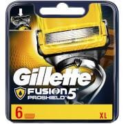 Gillette Fusion5 ProShield Razor Blades for Men - 6 Count