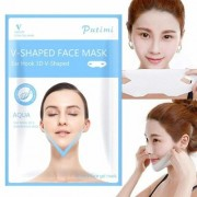 Digital Shoppy V Shaped Facial Mask Chin Cheek Lift Up Slimming Face Mask (A)